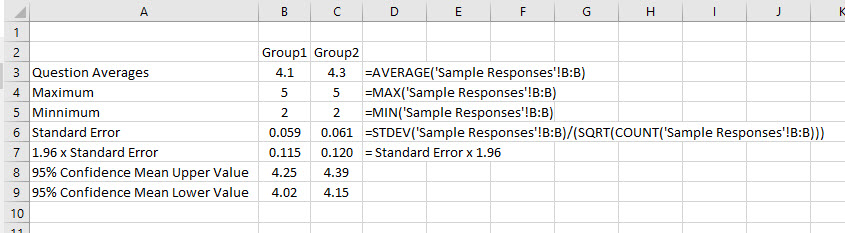 How to Analyze Survey Data in Excel