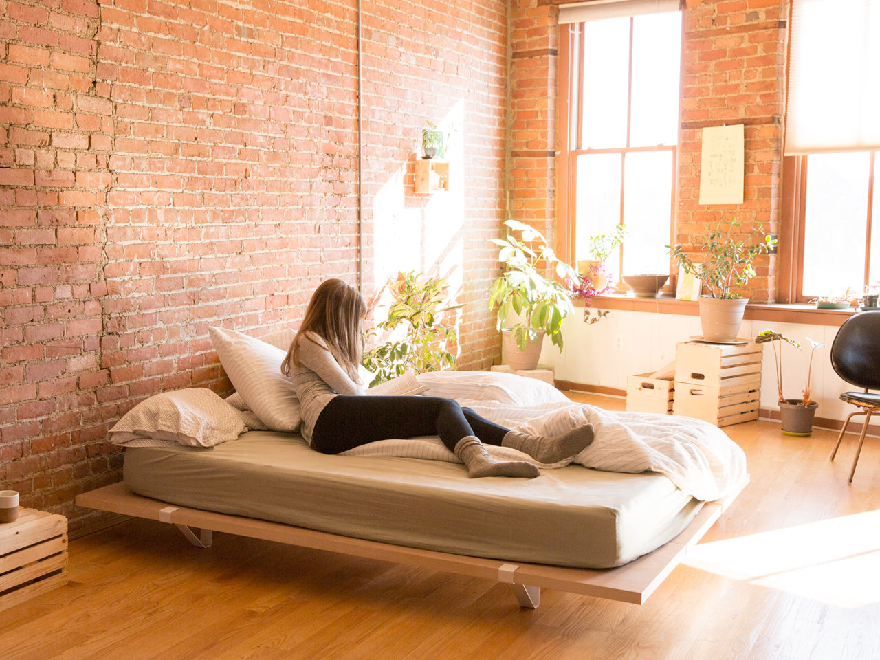 Minimal Bed A Minimal Platform Bed For City Living Design Milk