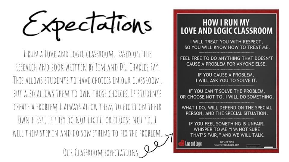 Classroom Expectations \u2013 Kristina Cox \u2013 Lakewood Elementary School