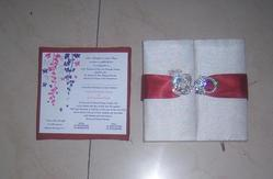 Fabric Covered Boxes For Wedding Invites Brocade Fabric