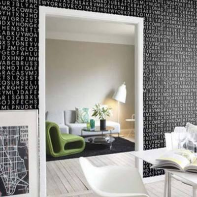 wallpapers for home interiors 2017 - Grasscloth Wallpaper