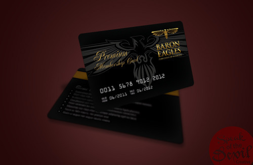 Promotional Materials Design - Membership Card Design Service
