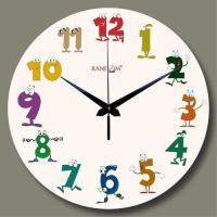 Kids Printed Wall Clocks, Kids Wall Clocks - Halos ...