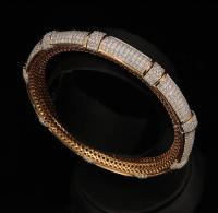Indian Traditional Diamond Bangles Design at Rs 175000 ...