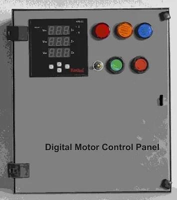Three Phase Motor Starter Controller Panel - Three Phase Motor