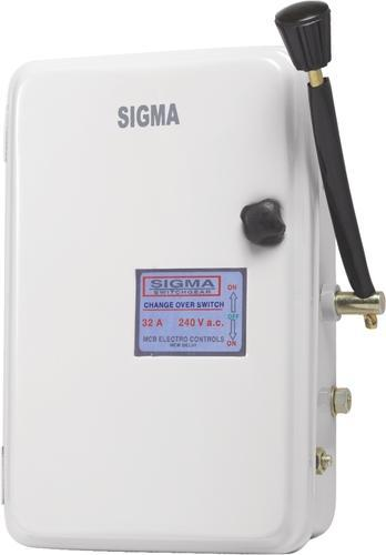 Sigma 32A Change Over Switch, Mcb Electro Controls ID 7529786362