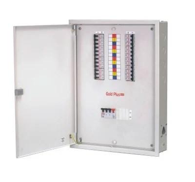 Distribution Board - Three Phase Segregated /Seven Compartment