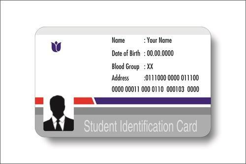 Student Identification Card at Rs 25 /piece School Id Card ID - student identification card