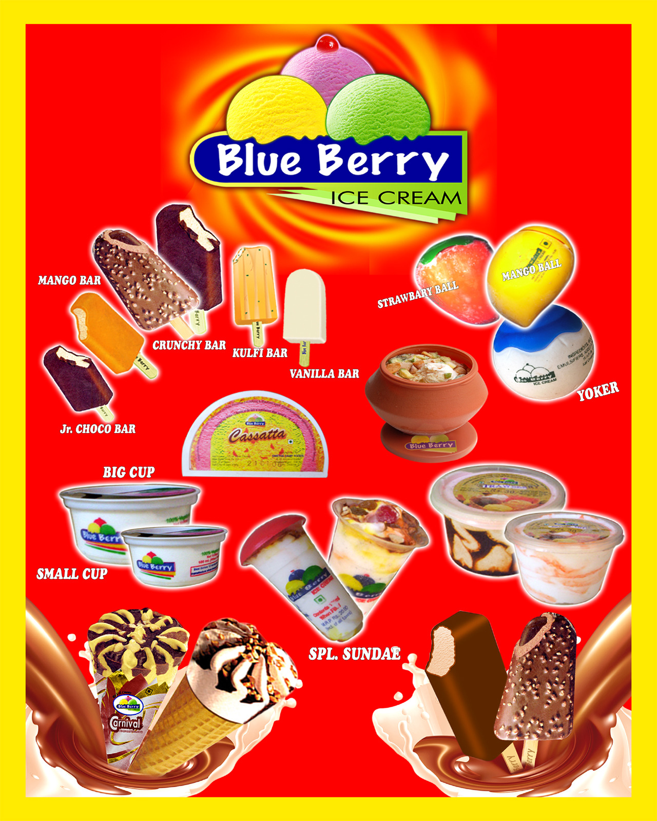 Axotherm Blue Berry Ice Cream Milk Dairy Products Blue Berry Ice Cream