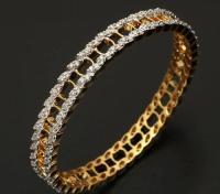 Traditional Diamond Bangles Designs at Rs 225000 /piece(s ...