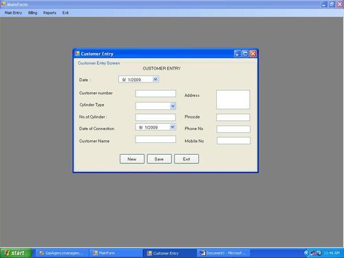 Readymade computer science Projects - Projects in Visual Basic(For