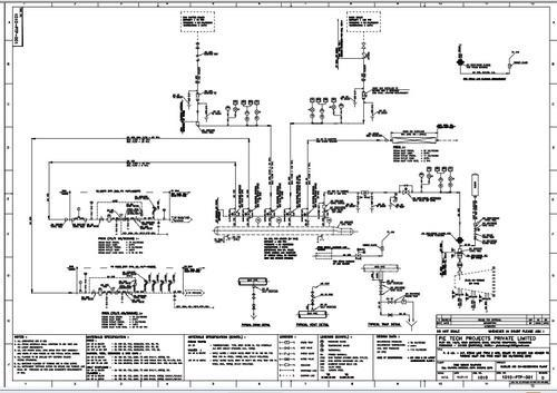 Piping Schematic Drawing Wiring Diagram