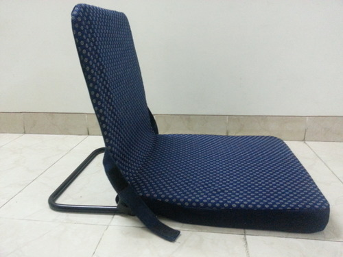 Metal Back Support Meditation Chairs Floor Chairs