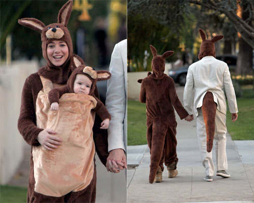 Alyson Hannigan Halloween 2009