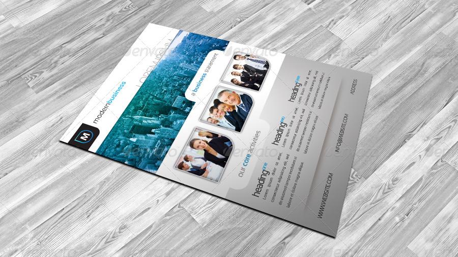 Portfolio Flyer Templates For Designing A Creative Company Profile