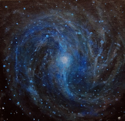 Alizey Khan Space Art Astronomical Art Nebula Painting