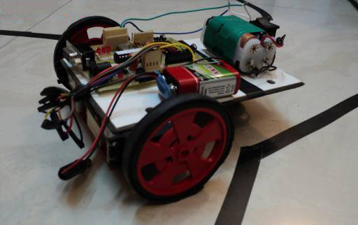 how to make a line follower robot in 10 minutes