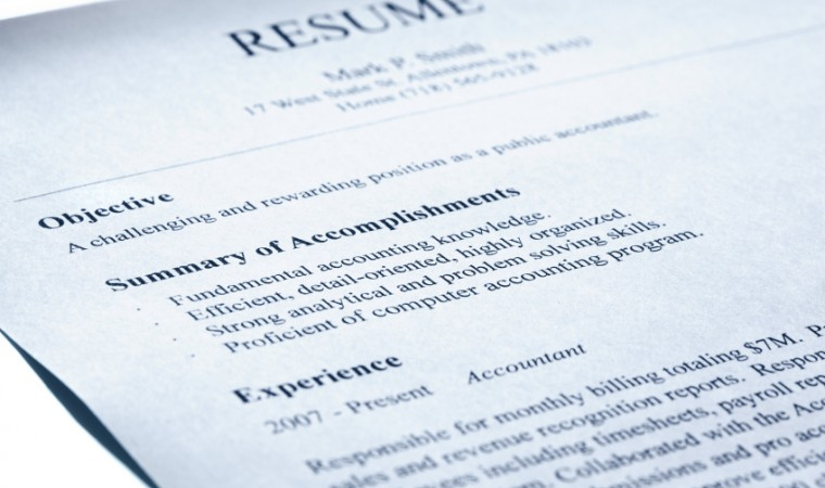 Sell Yourself with a Resume Objective Simply Hired Blog