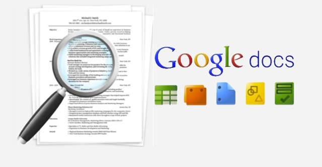A Guide to Posting Your Resume Online With Google Docs Simply - how to make a resume in google docs