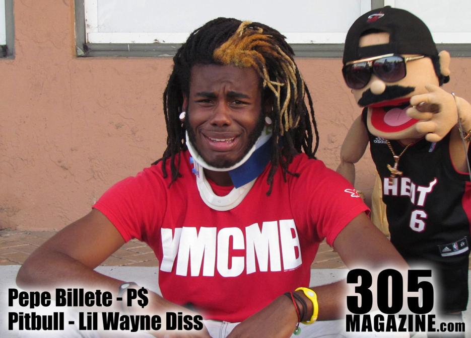 VIDEO: Pepe Billete - Pitbull 'Welcome 2 Dade County' Lil Wayne Diss