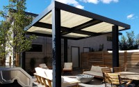 Ultra Modern Backyard Outdoor Living Area - Highlands ...