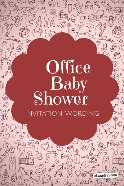 Office Baby Shower Invitation Wording » AllWording
