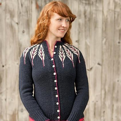 Pinion sweater pattern