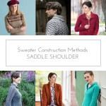 Sweater Construction Methods: Saddle Shoulder