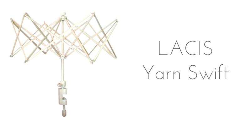Lacis yarn swift