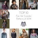 Top 10 Fair Isle Sweater Patterns of 2014