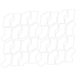 Small Crop Of Christmas Stocking Template