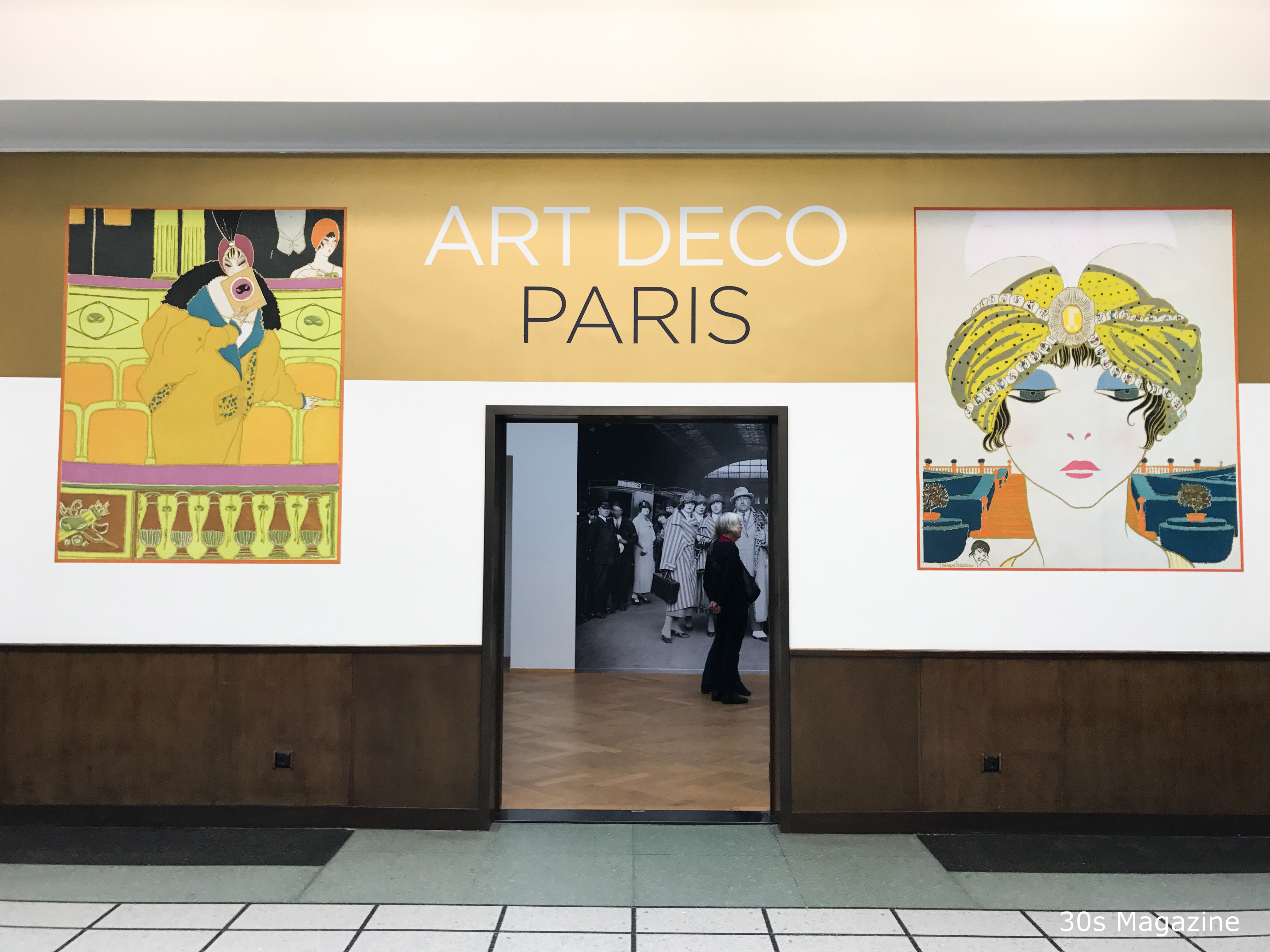 Arts Deco Paris 30s Magazine Art Deco Exhibition In Gemeentemuseum The Hague