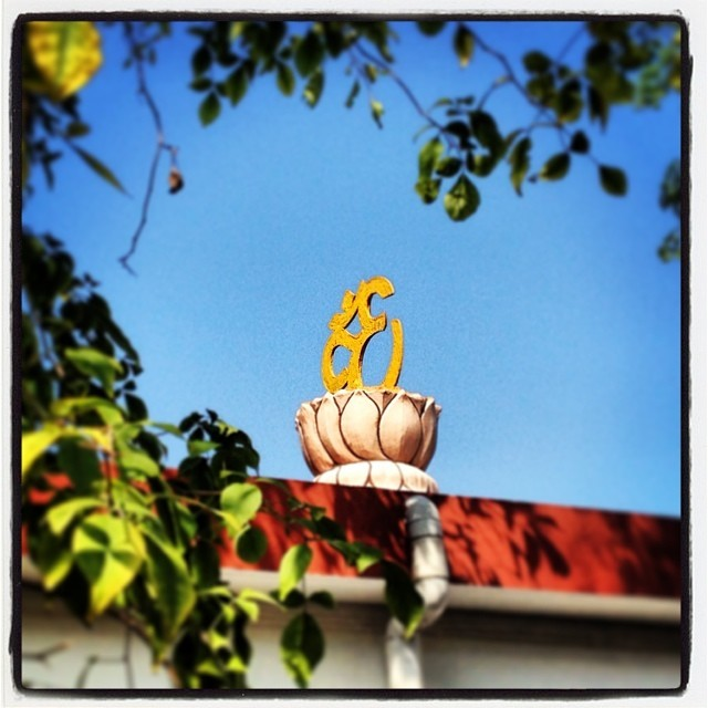 Such a beautiful day in #chennai #india #om #aum (at Kodambakkam)