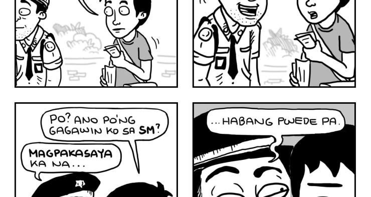 """""""Pakasaya ka na"""" comic by Jesie Castro"""