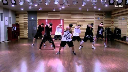 kpop girl groups dance to bts