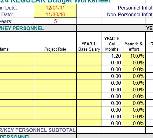 salary spreadsheet
