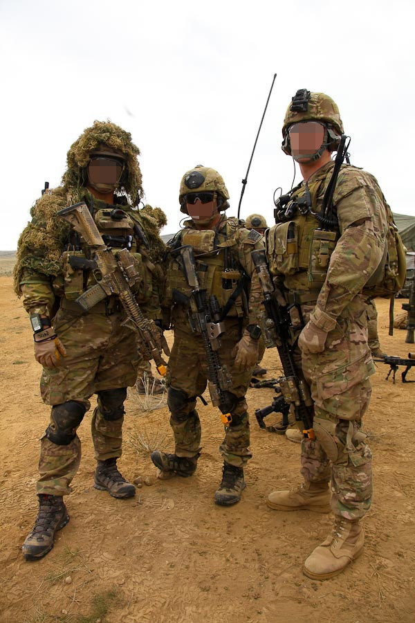 A Ranger with 2nd Battalion 75th Ranger Regiment providing - army form