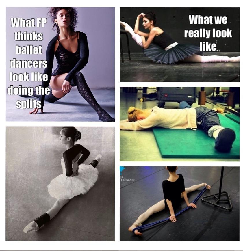 Free People ads vs what real ballet dancers look like Dance - ballet dancer resume