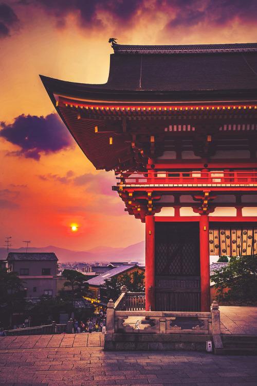 Japanese Quotes Wallpaper Japan Landscape Upload Colors Houses Sunset Temple Kyoto