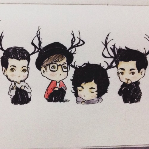 Fall Out Boy Christmas Wallpaper Drawing Chibi Pete Wentz Fall Out Boy Doodle Patrick Stump