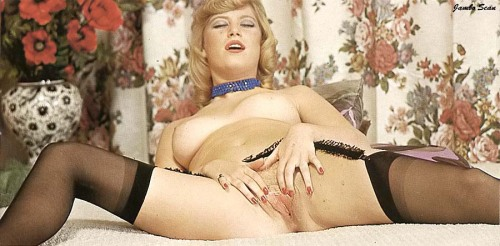 vintage garter belts and stockings