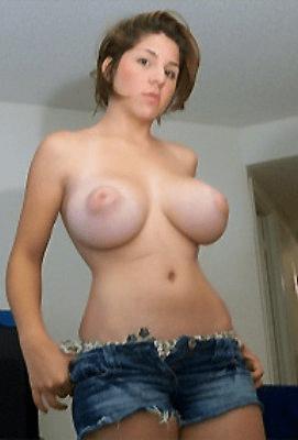 saggy tits big nipples