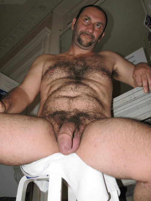 men Hairy uncut old
