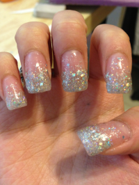 prom nails on Tumblr