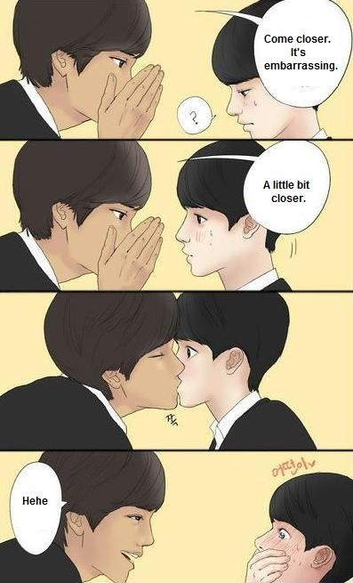 Yoonmin Cute Pictures For Wallpapers The Gallery For Gt Kaisoo Fanart Nc 17