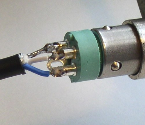 female xlr audio cable wiring