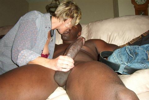 wife 2 black cocks cumshots