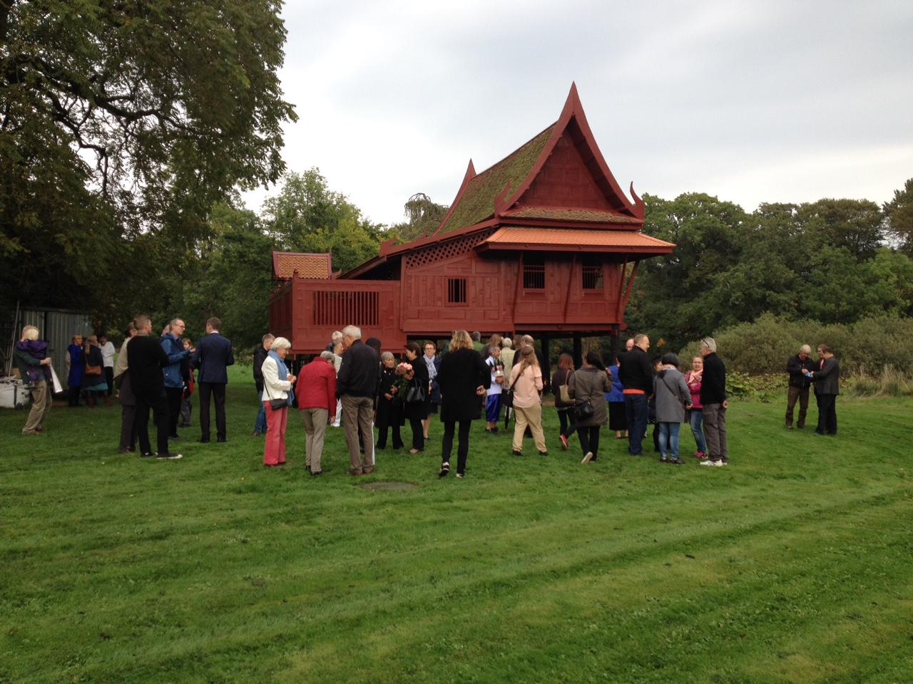 Container Haus Thailand Re Opening Thai House At The Moesgaard Museum Scandasia
