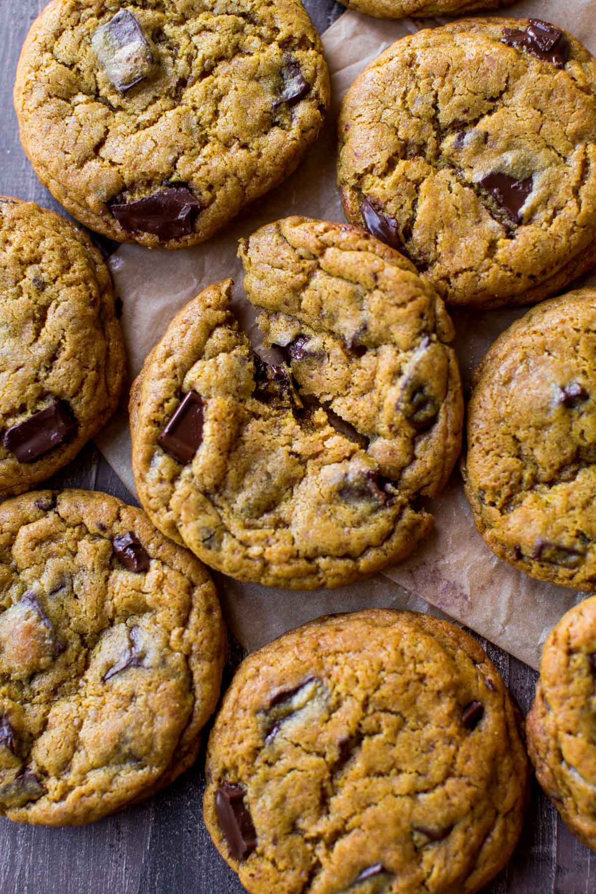 Chewy Chocolate Chip Cookies With Less Sugar Sallys