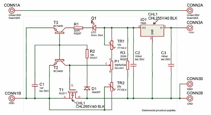 electronic circuit diagram switching power supply